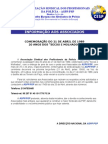 21 de Abril - Informação ASPP - PSP - Comunicado