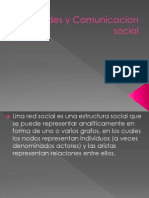 3-3 Redes y Comunicacion Social