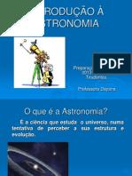 INTRODUÇÃO À ASTRONOMIA OBA