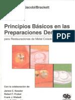 Principios Basicos en Las Preparaciones Dentarias - Shillingburg