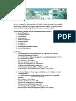 Iklan Lowongan Fresh Graduate PT Rekayasa Industri