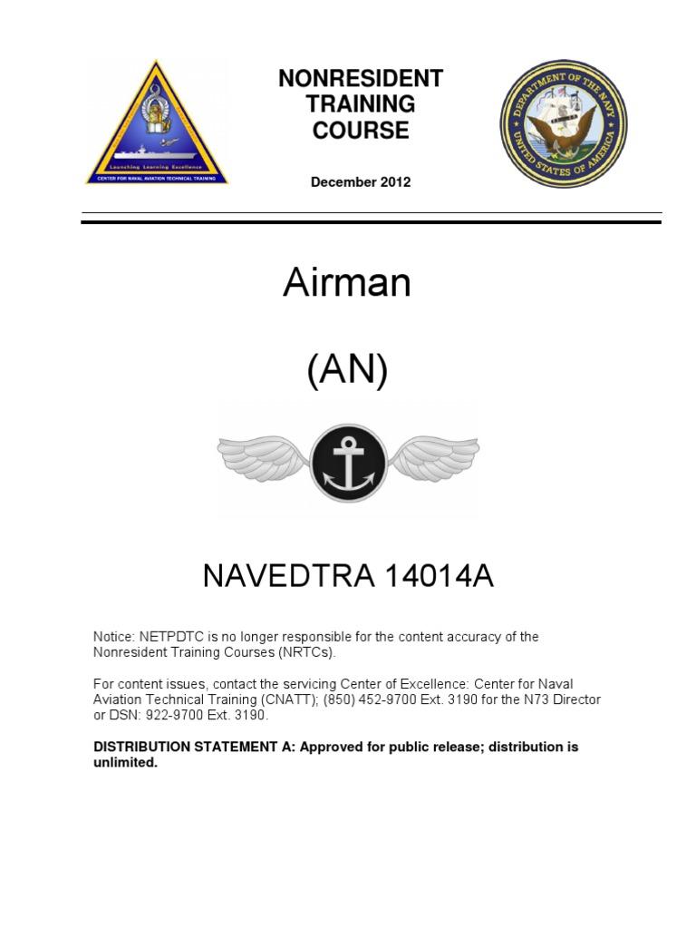 Navedtra 14014a Airman United States Navy Naval Aviation Block Diagram Sbd Audio Dock Portable Ticom