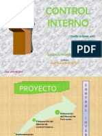 Control Interno Pacheco
