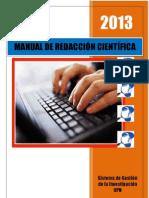 2013 MANUAL DE REDACCIÓN