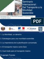 Seminar i o Internacional de Transport e
