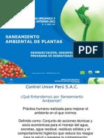 09 Saneamiento Ambiental de Plantas
