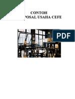 Contoh Proposal Usaha Cafe