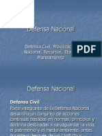 8ª CLASE. DEFENSA CIVIL