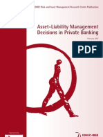 EDHEC Study_ALM Decisions in Private Banking
