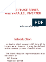 SINGLE PHASE SERIES AND PARALLEL INVERTER FINAL.ppt
