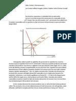 IB Economics HL Commentary IA Example