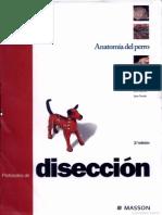Anatomia Del Perro - Protocolos de Diseccion