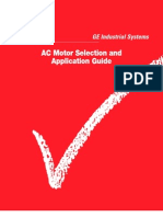 GE Motor Selection Procedure