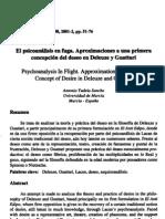 Aproximaciones a una primera concepción del deseo en Deleuze y Guattari