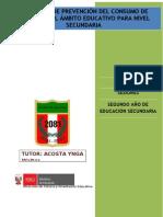 Sesiones Tutoria-2do Secundaria- Walter