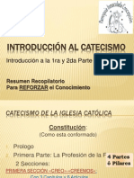 Introduccion Al CATECISMO 1ra Parte