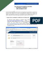 INSTRUCTIVO ALUMNOS_ MATRÍCULA EN  LÍNEA2013