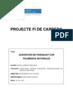 Adsorcion de Paraquad Con Polimeros
