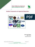 Análisis Comparativo de Agencias Espaciales
