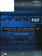 Analytical No-Limit Holdem