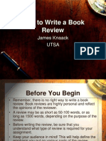 Book Review How to Do It