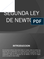 Resumen Segunda Ley de Newton
