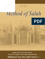 Method of Salah (English), by Allama Muhammad Ilyas Qadri