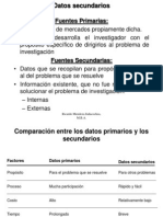 Clase3 Fuentes Secundarias