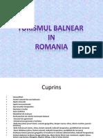 Turism Balnear in Romania Final
