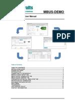 Mbus-Demo User Manual 1 30