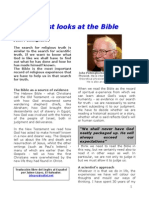 A SCIENTIST LOOKS AT THE BIBLE