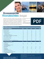Economische Vooruitzichten België - juni 2013