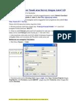 Aplikasi IUT Atau Survey Dg AutoCAD