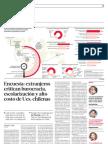 Encuesta extranjeros critican burocracia, escolarización y alto costo de Ues. chilenas