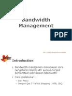 Bandwidth Management Proxy Dan TC OK
