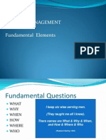 PM Fundamentals