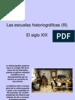 Las Escuelas Historiogrc3a1ficas III