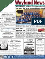 The Wayland News June 2013