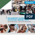 UN-Habitat Global Activties Report (2013)