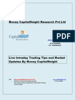 Live Intraday Trading Tips and Market Updates by Money CapitalHeight
