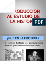 Introduccion Al Estudio de La Historia