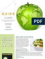 Climate friendly foodguide