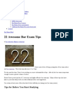 22 Highly-Effective Bar Exam Tips.pdf