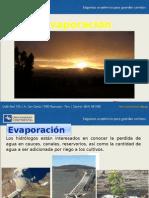 08 Evaporacion 2013-I