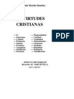Las Virtudes Cristianas - Benjamín Martín Sánchez