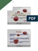 Slide IRIE Contribution Sur Le PNI ISO IEC 27005 2008