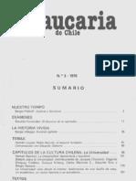 Revista Araucaria de Chile Nº 3