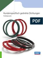11302_1 Kundenspezifisch Gedrehte Dichtungen - Profiluebersicht