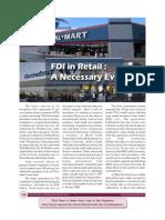 FDI in Retail a Necessary Evil October 2012.
