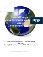 GM CustomerSpecifics May2007